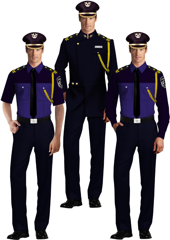 保安制服系列设计方案04